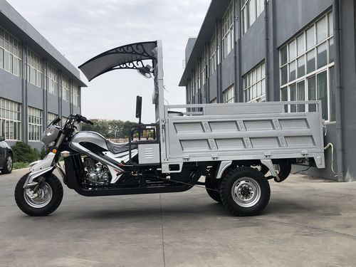 Double Tipper Cargo Tricycle
